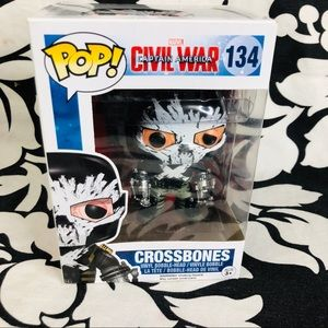 5 for $25| FUNKO Marvel Pop Vinyl Fig Crossbones